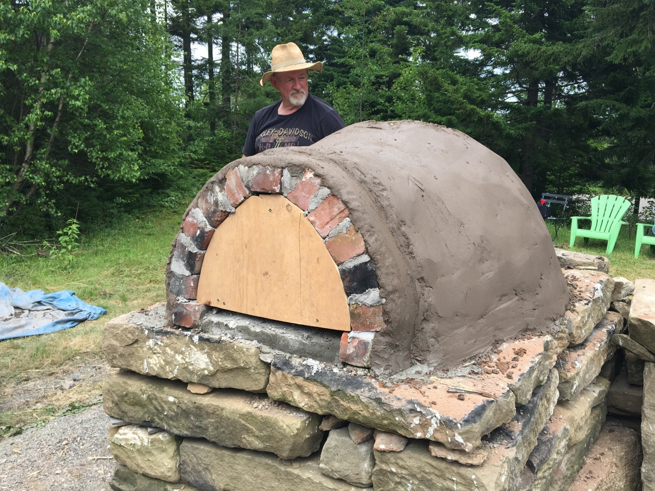 The Making of a Cob Oven
