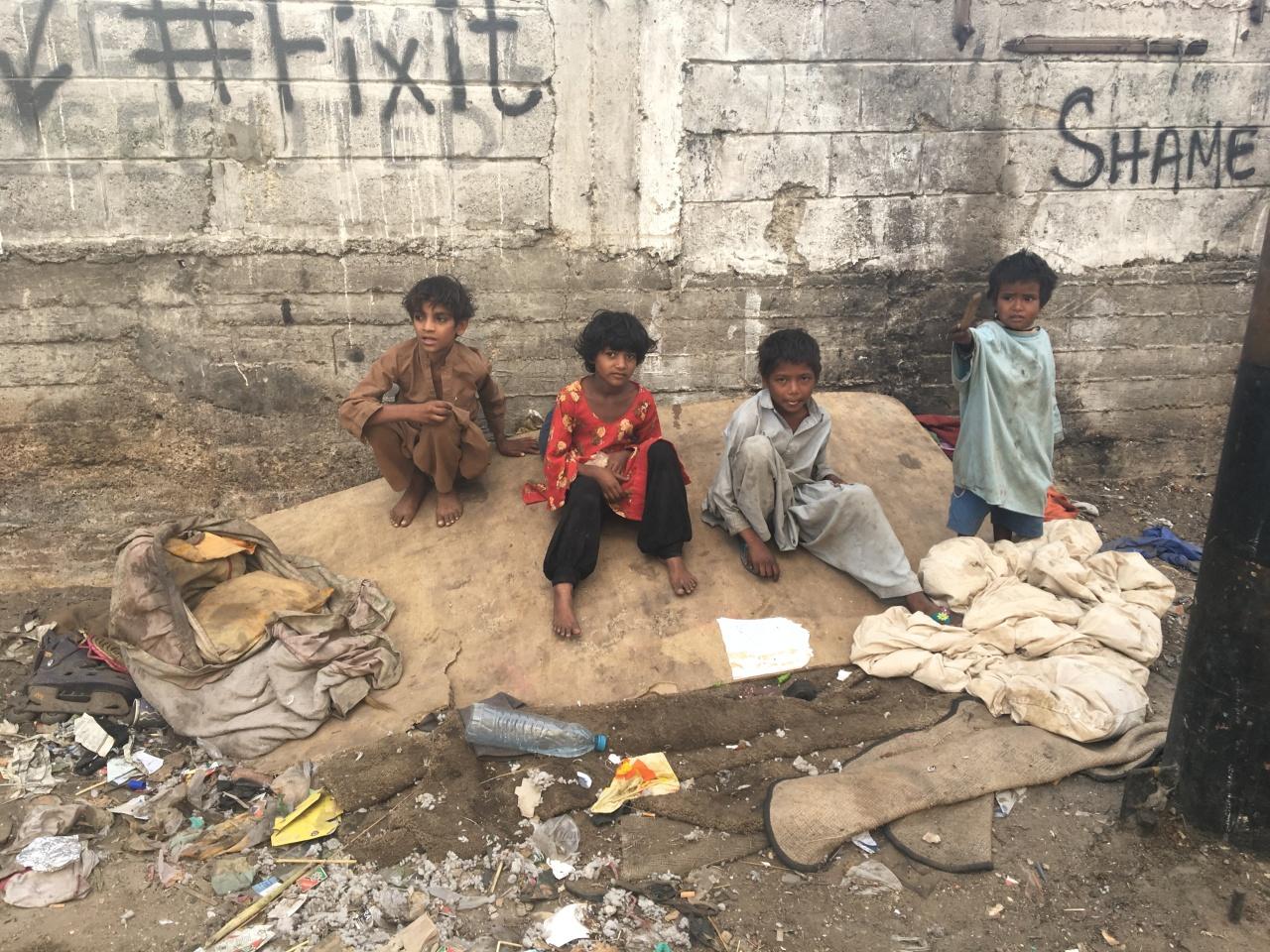 The plight of streetchildren
